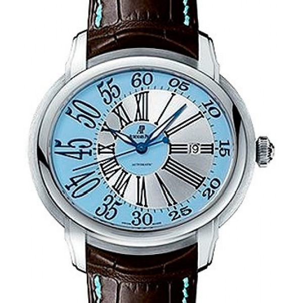 Audemars Piguet watches Millenary Novelty (WG / Light Blue / Leather)