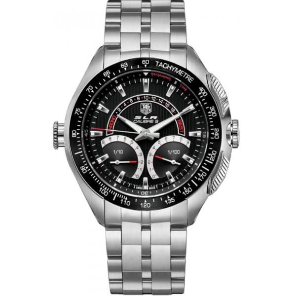 TAG Heuer SLR Calibre S Laptimer 1/100th Electro-Mechanical Chronograph 47 mm