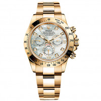 Rolex Cosmograph Daytona Yellow Gold Mother-of-Pearl