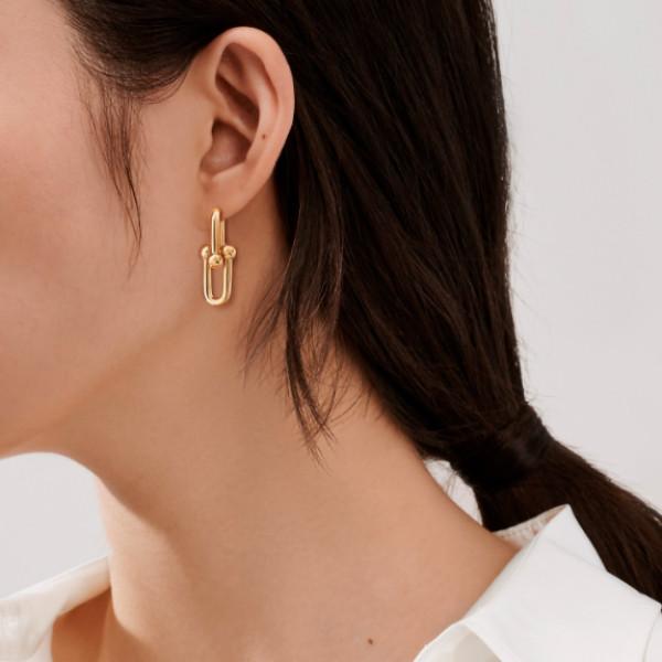 Серьги Tiffany & Co. HardWear, желтое золото