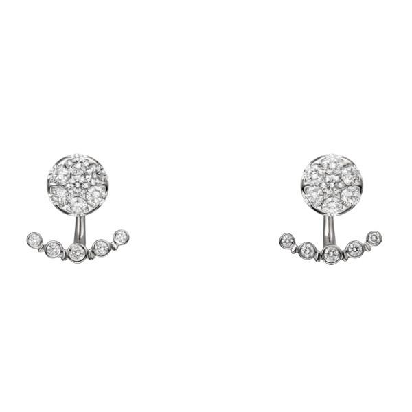 Серьги Etincelle de Cartier, белое золото, бриллианты