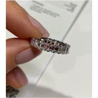 Кольцо с бриллиантами. белое золото
