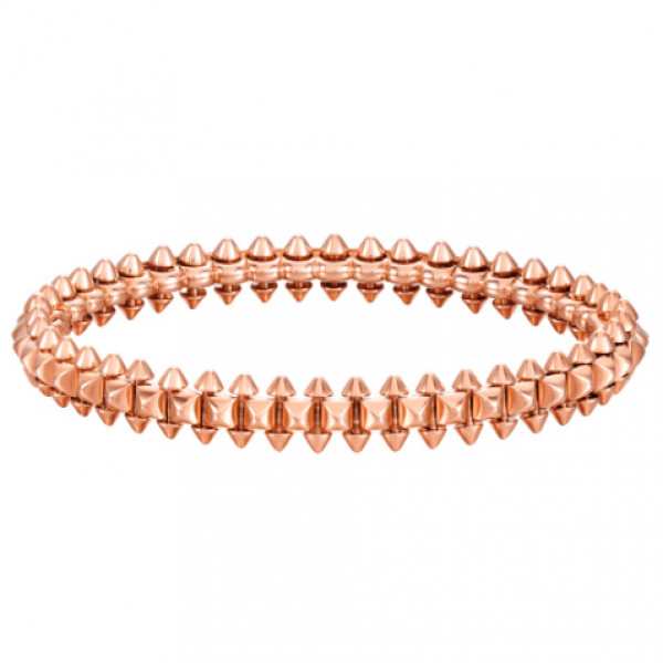 Браслет Clash de Cartier, розовое золото