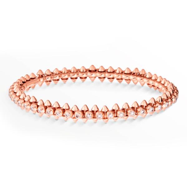 Браслет Clash de Cartier, розовое золото, бриллианты