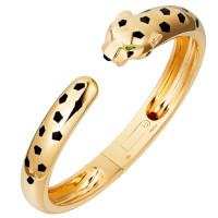 Браслет Panthere de Cartier, желтое золото, оникс