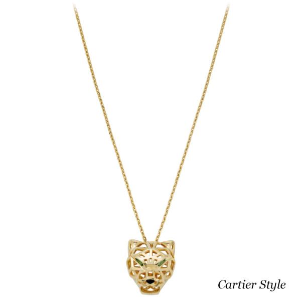 Подвеска Panthere de Cartier, желтое золото