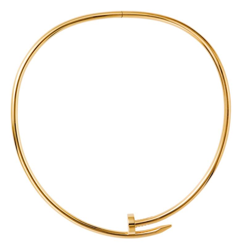 Колье Cartier Juste Un Clou, желтое золото