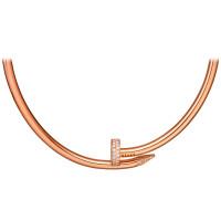 Колье Cartier Juste Un Clou, розовое золото, бриллианты