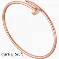 Браслет Cartier Juste Un Clou, розовое золото