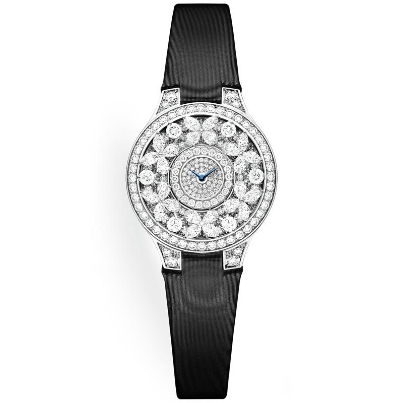 Женские часы Graff Classic Butterfly, белое золото, бриллианты