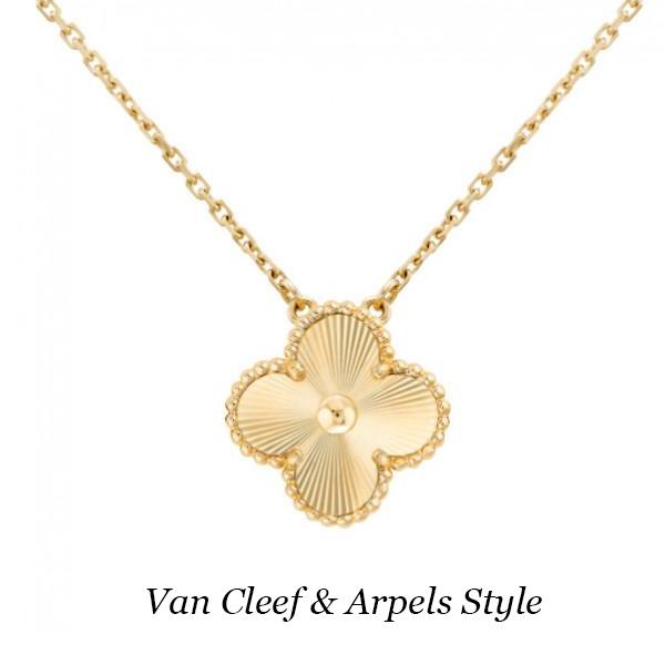 Подвеска Van Cleef & Arpels Vintage Alhambra, желтое золото