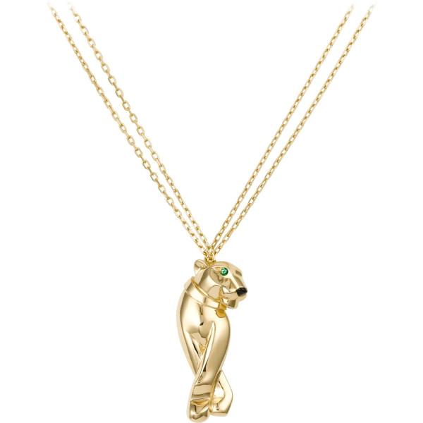 Колье Panthere de Cartier, желтое золото