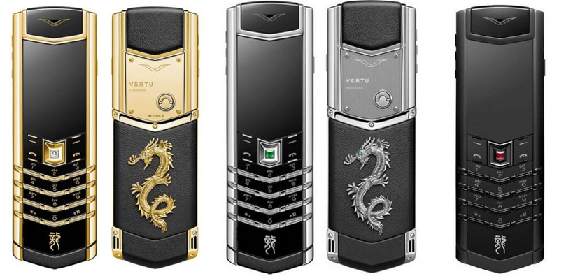 VERTU SIGNATURE S DESIGN DRAGON COLLECTION