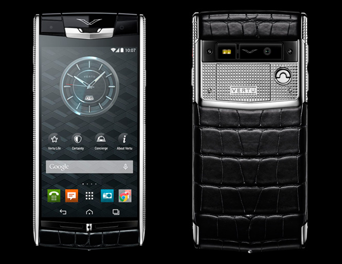 Обзор Vertu Signature Touch CLOUS DE PARIS